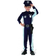 Dětský karnevalový kostým POLICISTA COLOMBO 110 - 120cm ( 4 - 6 let )